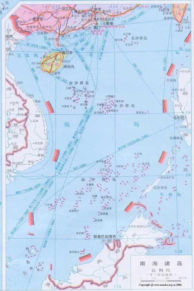 看一眼印度洋地图中的美国迪戈加西亚海军基地